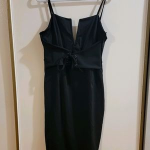 Black V Chest Cut Out